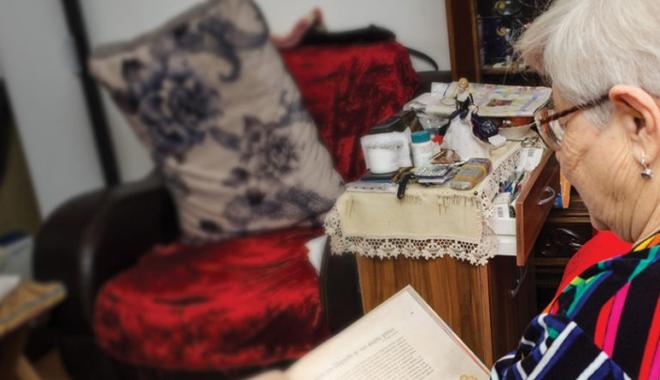 Foto: Daruri pentru vârstnicii cu venituri reduse din Cumpăna