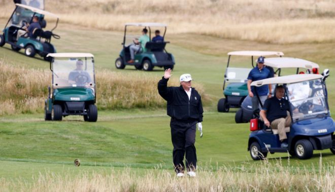 Foto: Nicio zi fără golf
