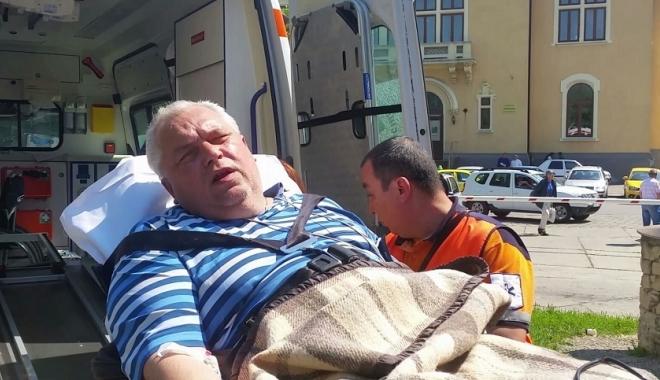 Foto: Cardiologii Marius Ţoringhibel şi Raluca-Irinel Parepa, acuzaţi că l-au internat ilegal pe Nicuşor Constantinescu. DNA i-a pus sub control judiciar