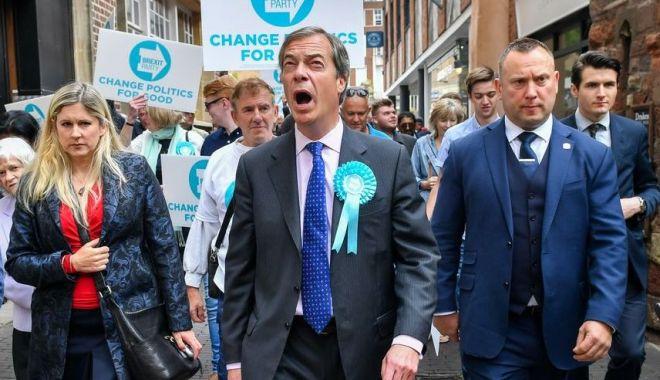 Foto: Nigel Farage vrea un rol în negocierile pentru Brexit