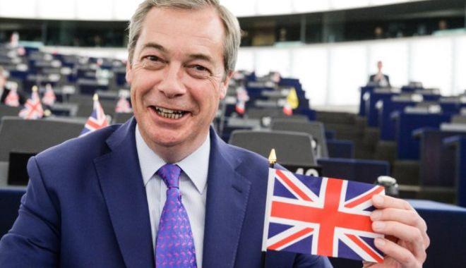 """Foto: Nigel Farage, unul dintre """"arhitecții Brexit"""" lansează un nou partid. Cum se va numi acesta"""