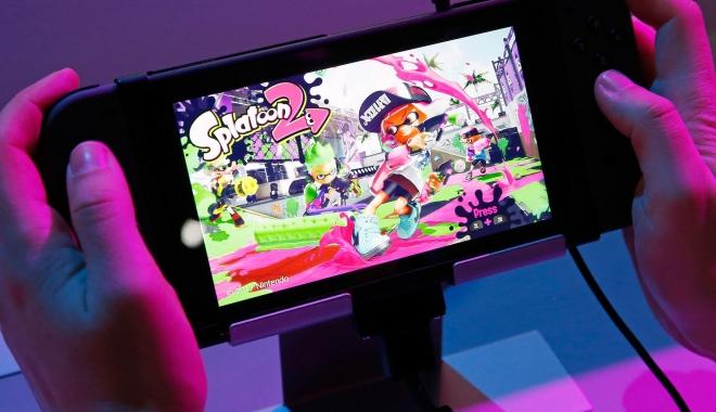 Foto: Nintendo a lansat noua consolă Switch