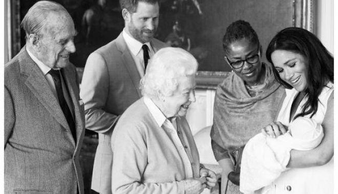 Foto: A fost anunțat numele primului copil al prințului Harry și al lui Meghan Markle