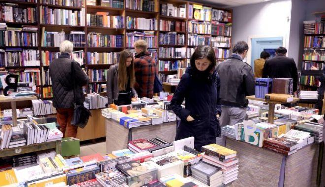 Foto: Jaf la librăria Cărtureşti din City Park Mall / Principalul suspect a fost prins şi arestat