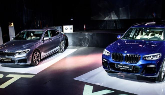 Foto: Cele mai noi modele BMW au sosit la malul mării
