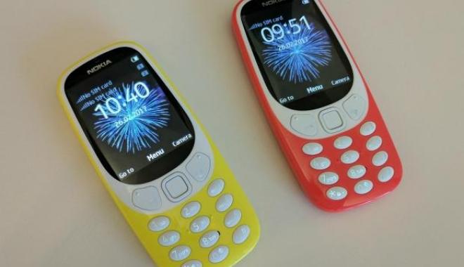 Foto: Nokia 3310 a fost relansat oficial
