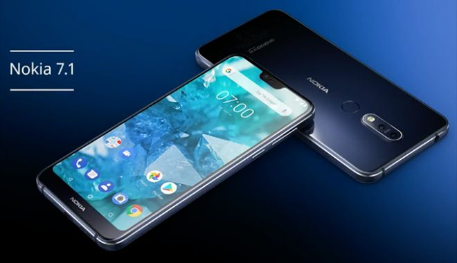 Foto: Nokia 7.1 a fost prezentat oficial. Vine cu hardware mid-range premium la preţ accesibil