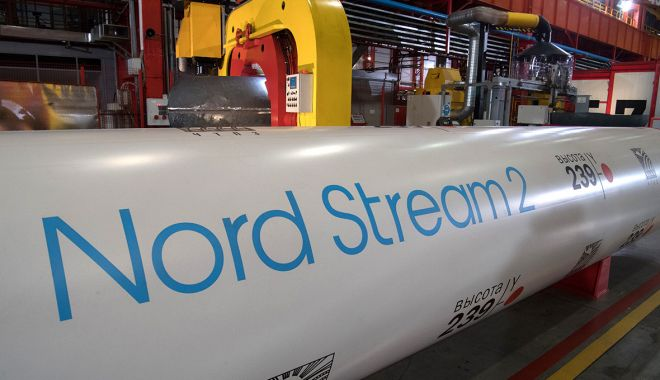 Foto: Nord Stream 2, controversata conductă Gazprom, primeşte undă verde în UE