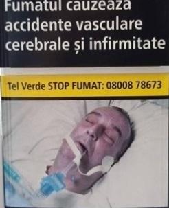 Foto: VEŞTI NOI. BĂRBATUL DE PE PACHETELE DE ŢIGĂRI NU A FOST INTUBAT