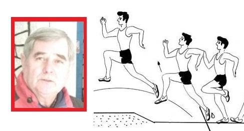 """Foto: 2 pe """"2 a doua"""", la educaţie fizică, în 1988. Respect Traian Ene, ce mari profesori am avut!"""
