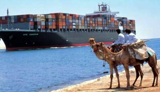 Foto: Noul Canal Suez va fi inaugurat în august 2015