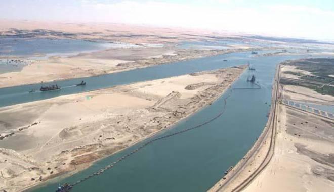 Foto: Noul Canal Suez va fi inaugurat pe 6 august