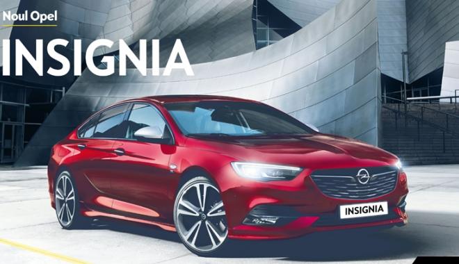 Foto: Noul Opel Insignia a ajuns în România şi poate fi găsit la sediul Rădăcini Motors Constanţa