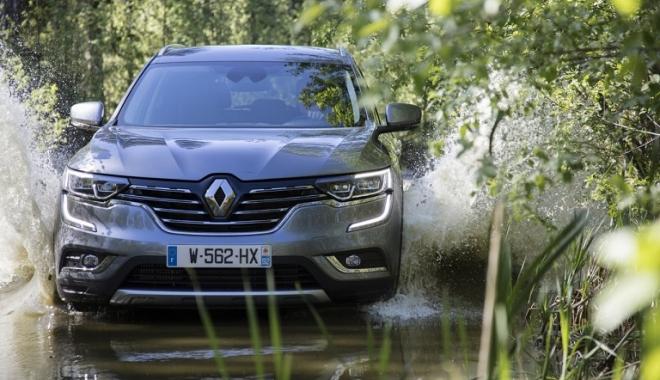 Foto: GALERIE FOTO / Siguranţă de 5 stele pentru noul Renault KOLEOS