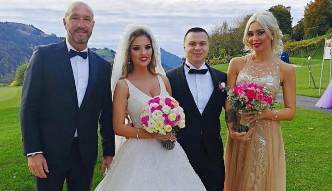Foto: GALERIE FOTO / Nicu Gheară, socru mare. Mireasa, fiica unui important om de afaceri din Constanţa