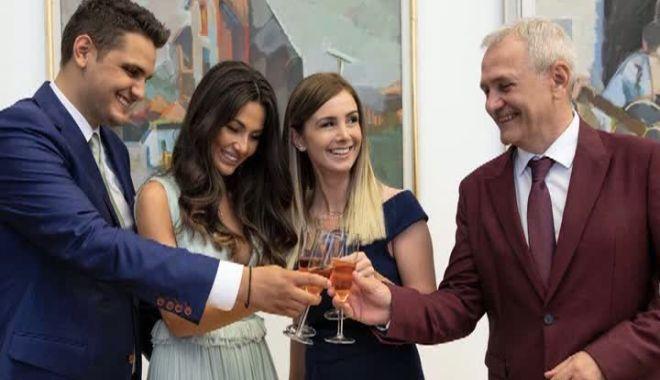 Foto: Primele imagini de la nunta fiului lui Liviu Dragnea