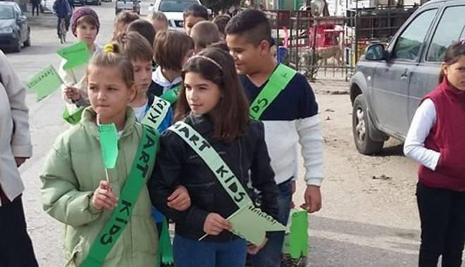 """Foto: """"Patrula Smart Kids"""" a câştigat premiul I al concursului Energy Smart"""