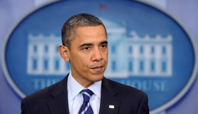 Foto: Barack Obama va oferi cinci la sută din salariul său Trezoreriei