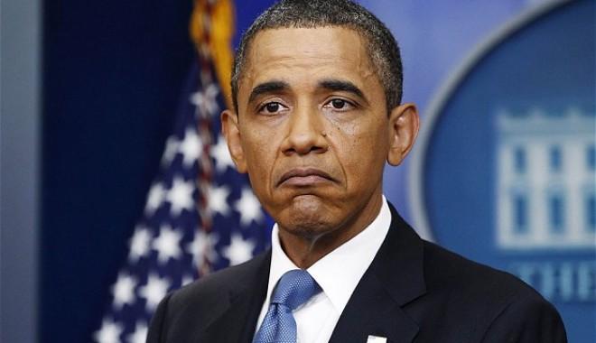 Foto: Obama va oferi cinci la sută  din salariul său Trezoreriei