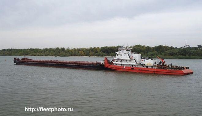 Foto: O barjă cu grâu a eșuat în Marea Azov