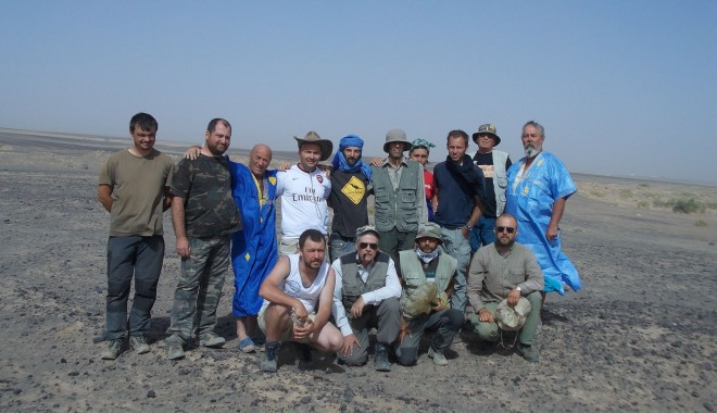 Foto: Oceanic Club. S-a încheiat Expediţia Merzouga 2013
