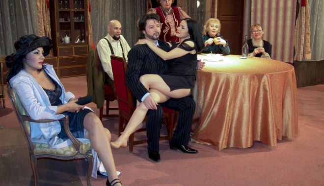 Foto: O comedie savuroasă la Teatrul de Stat Constanţa