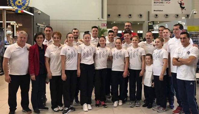 Foto: O constănţeancă, în lotul României pentru Mondialele de gimnastică