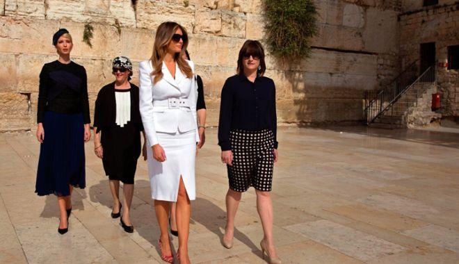 Foto: O delegaţie americană, prezentă în Israel  pentru deschiderea ambasadei SUA la Ierusalim