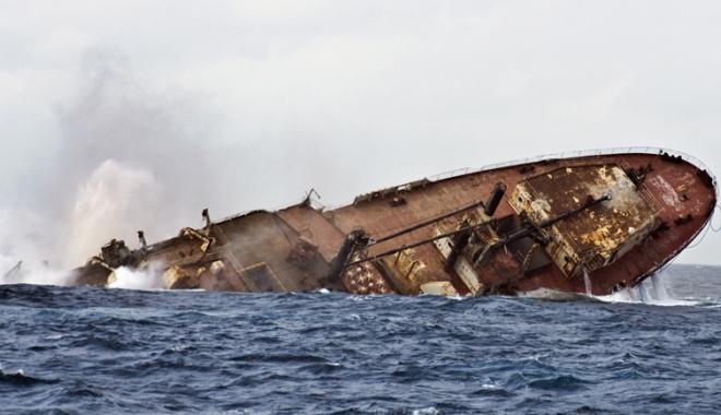 """Foto: Odiseea cargoului """"Covasna"""""""