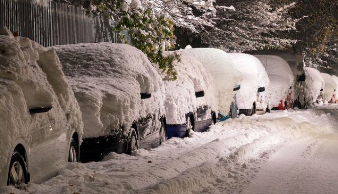 Foto: Primele ninsori, după căldura anormală. VAL DE AER POLAR PESTE ROMÂNIA!