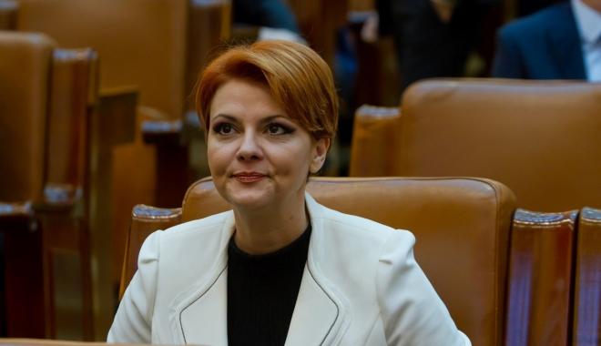 """Foto: Olguţa Vasilescu: """"Cred că toţi miniştrii or să-şi retragă demisiile pentru a asigura interimatul"""""""