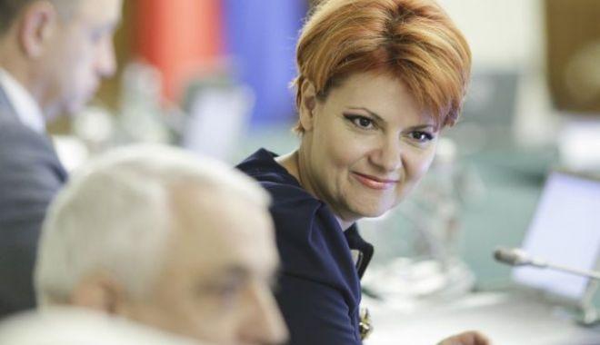 Foto: Legea pensiilor va fi anunţată joi. Întâlnire Liviu Dragnea şi Lia Olguţa Vasilescu, la Parlament, pentru a discuta despre forma finală