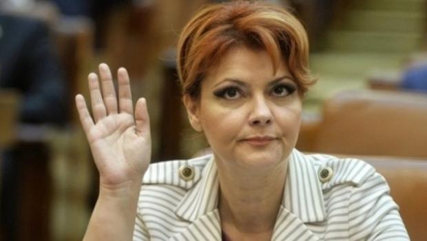 Foto: Lia Olguţa Vasilescu, convinsă de Dragnea să renunţe la postul de ministru al Dezvoltării