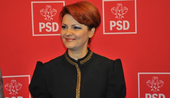 Foto: Olguţa Vasilescu: Mă aştept ca preşedintele să întoarcă legea salarizării