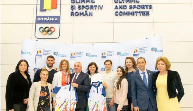 Foto: Energie pentru pregătirea Echipei Olimpice a României
