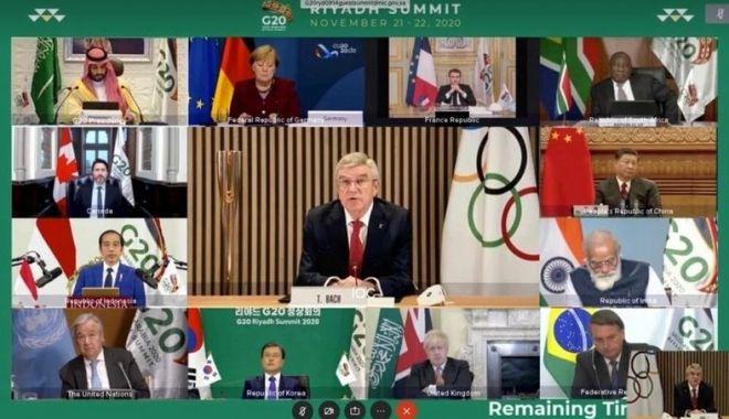 Olimpism / Liderii G20 sprijină ferm Tokyo 2020 şi Beijing 2022 - olimpism2411-1606231503.jpg