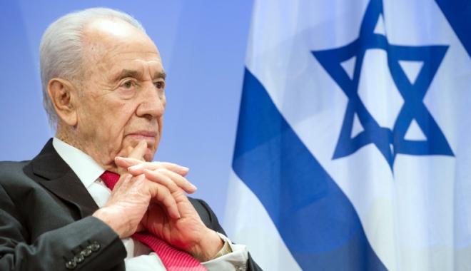 Foto: Omagii şi memorii postume,  la un an  de la dispariţia  lui Shimon Peres