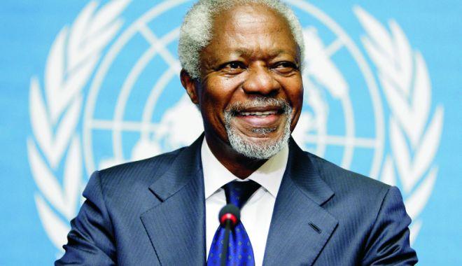 Foto: Omagii din toată lumea după moartea lui Kofi Annan