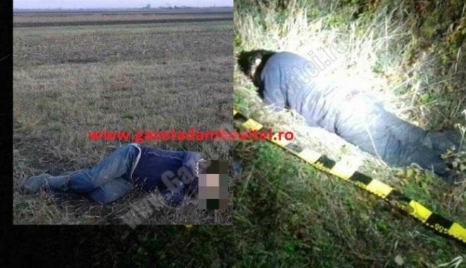 Foto: Crime în stil mafiot! Un consilier local de la UNPR şi încă un bărbat au fost împuşcaţi mortal. DETALII ŞOCANTE