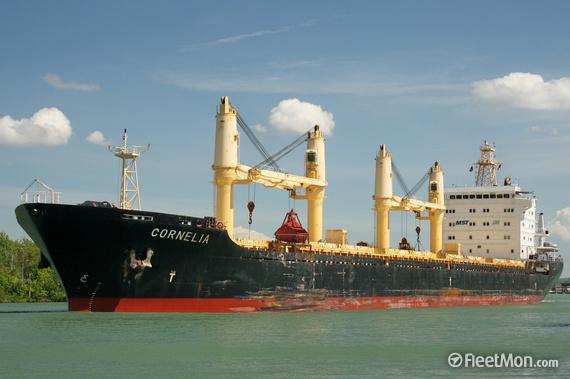 Foto: O navă cu cereale a fost reţinută de Garda de Coastă a SUA