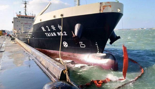 O navă de bunkeaj a suferit o spărtură, în urma unei rafale de vânt - onavadebunkeajasuferitospartura-1603276480.jpg