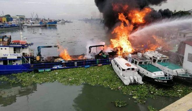 Navă scufundată în urma unei explozii. Doi marinari au dispărut - onavasascufundatinurmauneiexploz-1623678387.jpg