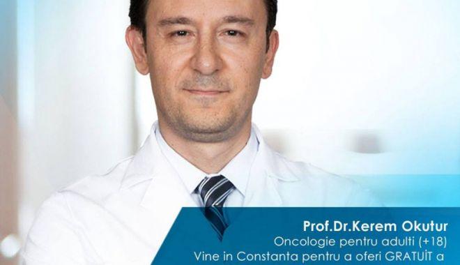 Foto: Consultaţii gratuite! Doi reputaţi medici oncologi turci, la Constanţa