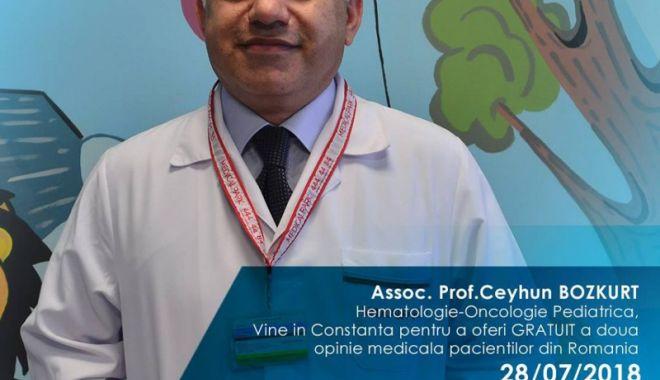 Consultaţii gratuite! Doi reputaţi medici oncologi turci, la Constanţa - oncologi1-1531664406.jpg