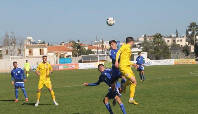 """Foto: Onoarea """"tricolorilor"""" în duelul cu Cipru, salvată de un jucător al Viitorului"""