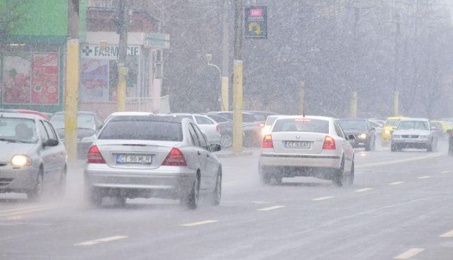 Foto: O nouă avertizare de la meteorologi. Polei şi vânt puternic, în zilele următoare, la Constanţa