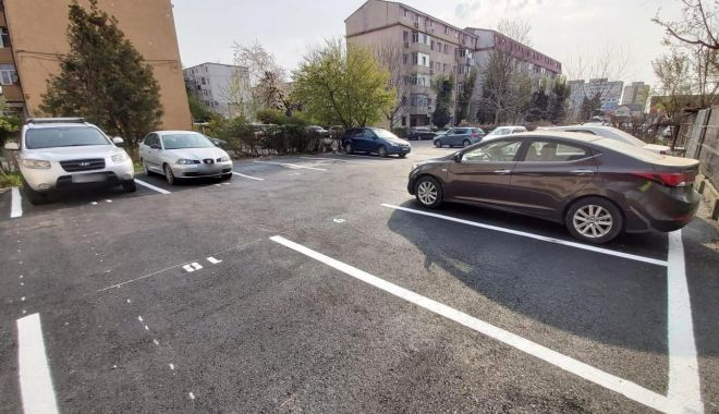 Foto: O nouă parcare a fost amenajată în KM 4-5