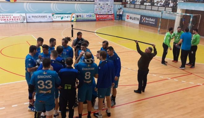 Foto: O nouă provocare pentru HCDS. Echipa lui Dalibor Cutura vine la Constanța