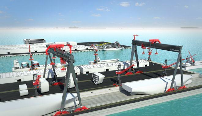Foto: O nouă revoluție în industria navală