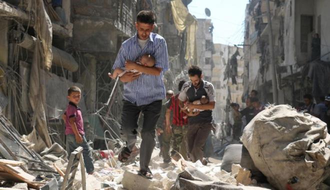 Foto: ONU: Peste 13 milioane de persoane  au nevoie de ajutor umanitar în Siria